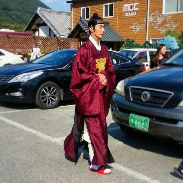 2014 10 4 Jung Il-woo at Dae Jang Geum park. Cr jilwww0909 .JPG