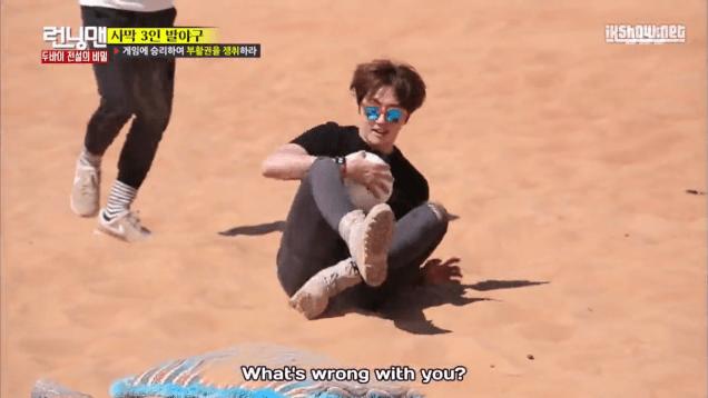2016 3 13 Jung Il-woo in running Man Episode 290. (Dubai Part II) Cr. SBS 182
