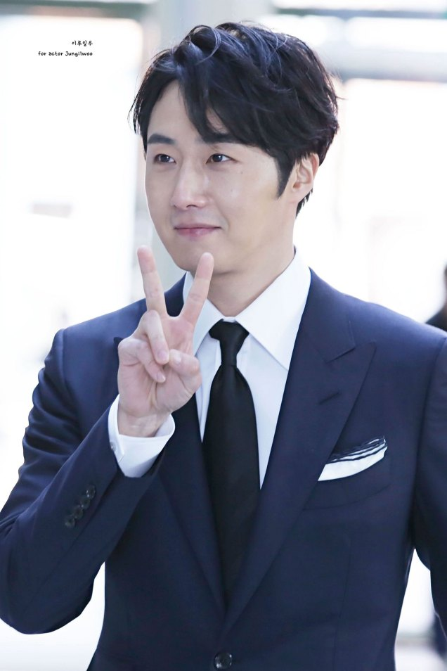 2019 2 11 Jung Il-woo at the Production Presentation by 이루일우 for actor Jungilwoo1