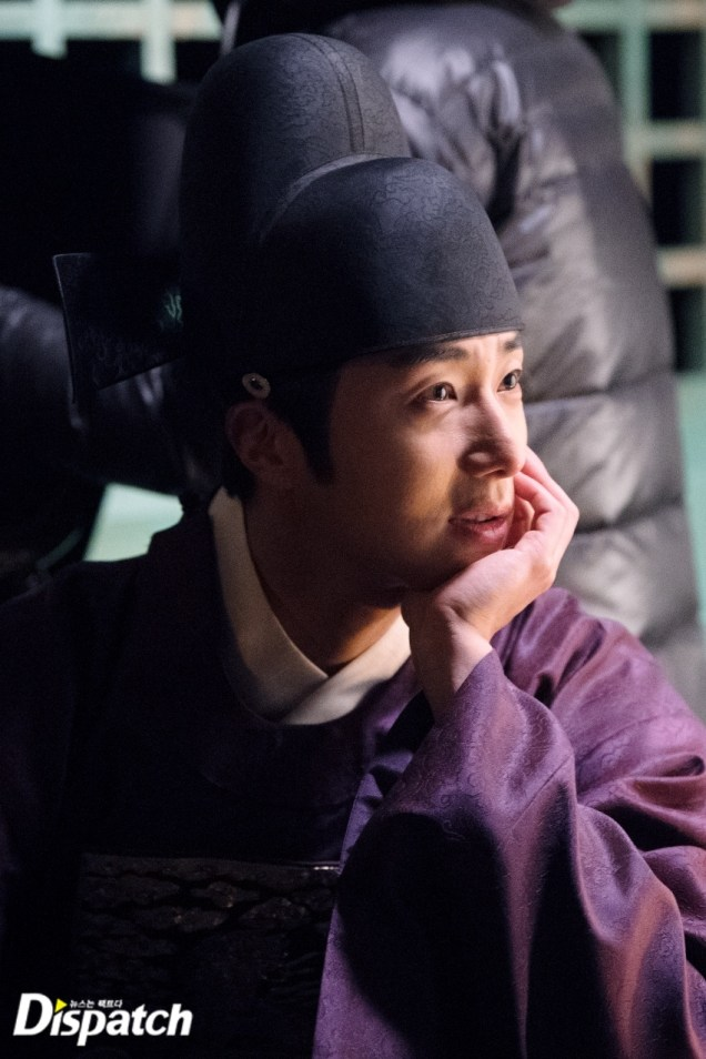 2019 2 11 Jung Il-woo in Haechi Episode 2 (3-4) Behind the Scenes. 2