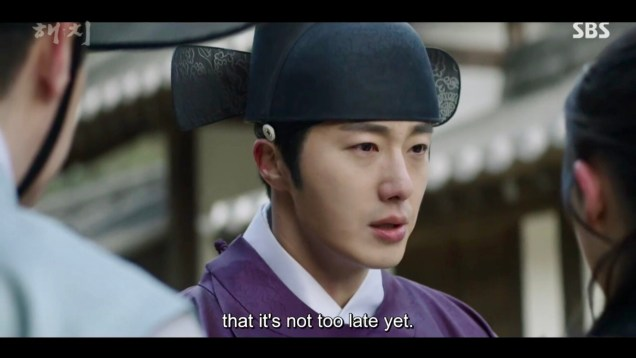 2019 2 18 Jung Il-woo in Haechi Episode 4 (7,8) Cr. SBS. Screen Captures by Fan 13. 22