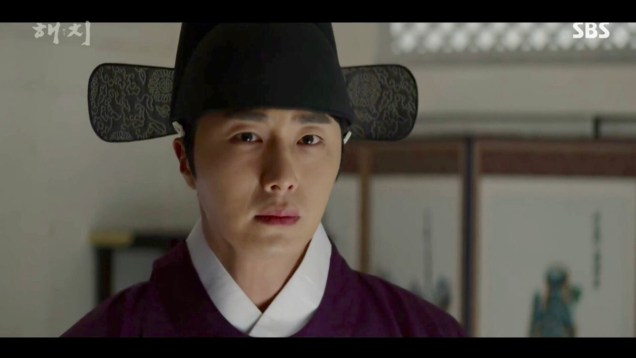 2019 2 18 Jung Il-woo in Haechi Episode 4 (7,8) Cr. SBS. Screen Captures by Fan 13. 32