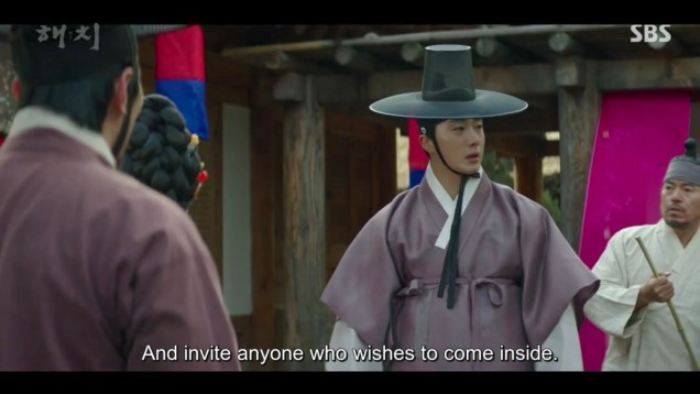 2019 2 18 Jung Il-woo in Haechi Episode 4 (7,8) Cr. SBS. Screen Captures by Fan 13. 7