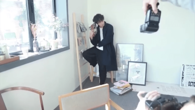 2019 2 18 Jung Il-woo in Kribbit Behind the Scenes Video 2, Screen Captures by Fan 13. Cr.Kribbit 3