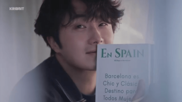 2019 2 18 Jung Il-woo in Kribbit Behind the Scenes Video 4, Screen Captures by Fan 13. Cr.Kribbit 7