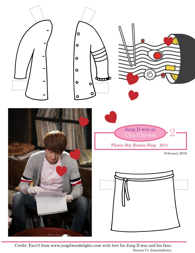 JFrog paper doll as Cha Chi-soo 2 Coloring Vs. Cr. Fan 13 from w