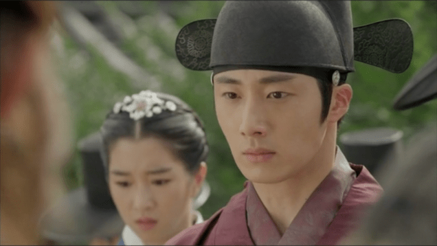 Jung II-woo in The Night Watchman's Journal Ep 5  33.PNG