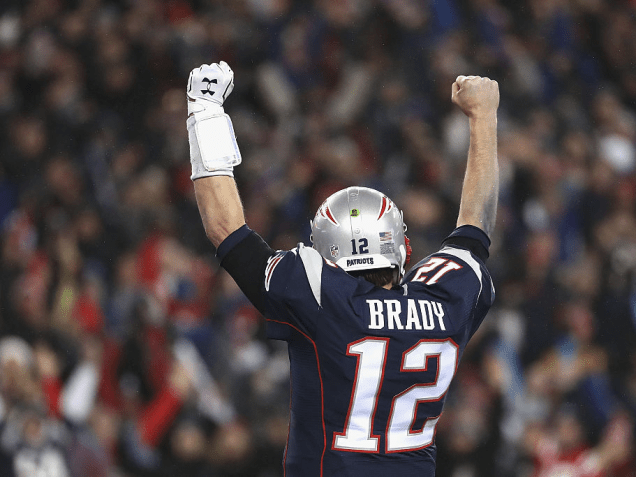 Tom Brady #1 Quarterback in history!  6 titles and counting!.PNG