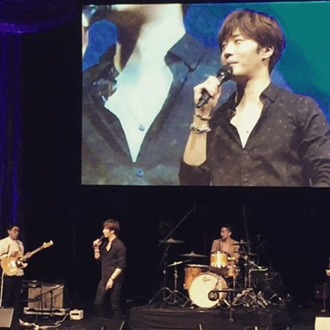 2016 4 15 Jung Il-woo at the 10th Thank You Fan Meeting in Japan. Cr. Fan Taken4