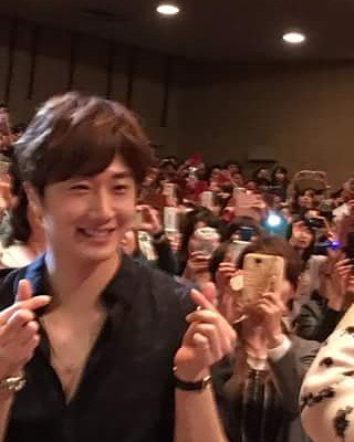2016 4 15 Jung Il-woo at the 10th Thank You Fan Meeting in Japan. Cr. Fan Taken5
