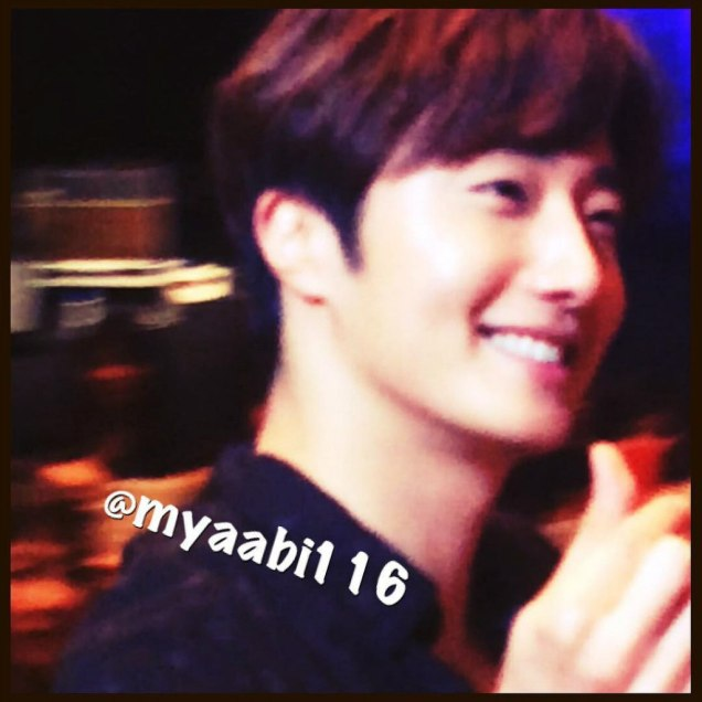 2016 4 15 Jung Il-woo at the 10th Thank You Fan Meeting in Japan. Cr. Fan Taken6