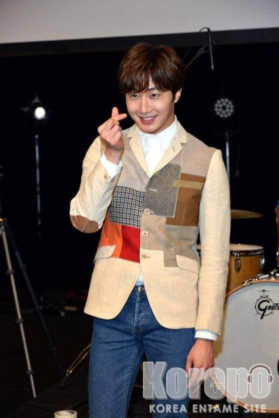 2016 4 15 Jung Il-woo at the Press Conference for his 10th Thank You Fan Meeting in Japan. 15