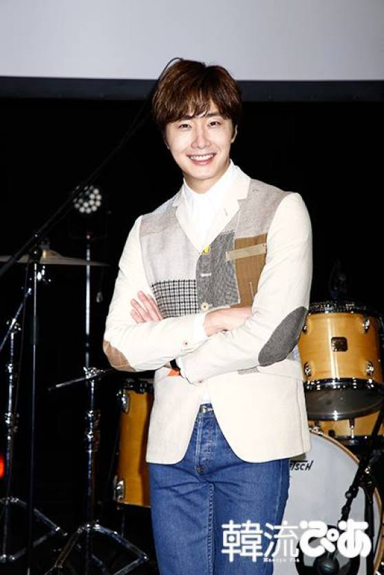 2016 4 15 Jung Il-woo at the Press Conference for his 10th Thank You Fan Meeting in Japan. 2