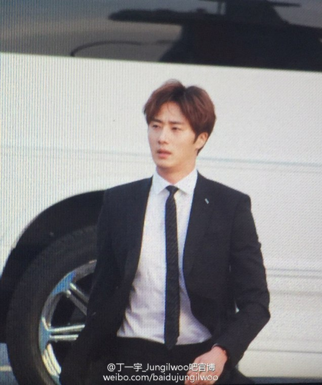 2016 5 21 Jung Il-woo at the Asian Model Awards. Red Carpet walk in. 20