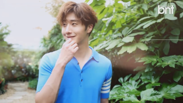 2016 5 22 Jung Il-woo in a BNT Pictorial. Cr BNT, Screen Captures by Fan 13. 7
