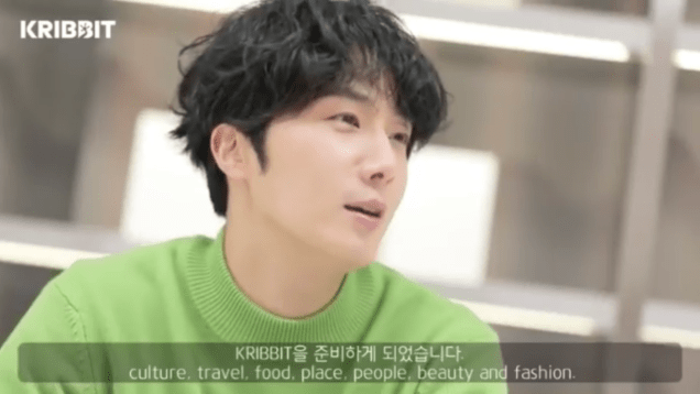 2019 2 18 Jung Il-woo in Kribbit Behind the Scenes Main Video, Screen Captures by Fan 13. Cr.Kribbit 6