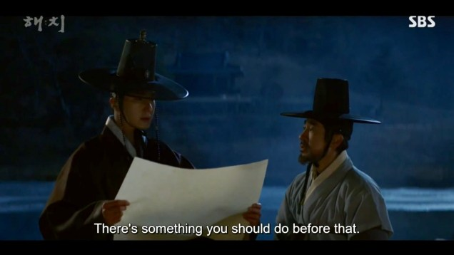 2019 2 26 Jung Il-woo in Haechi Episode 6 (11,12) Cr. SBS Screen Captures by Fan13. 33