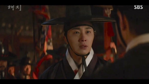 2019 3 12 Jung Il-woo in Haechi Episode 10. 19
