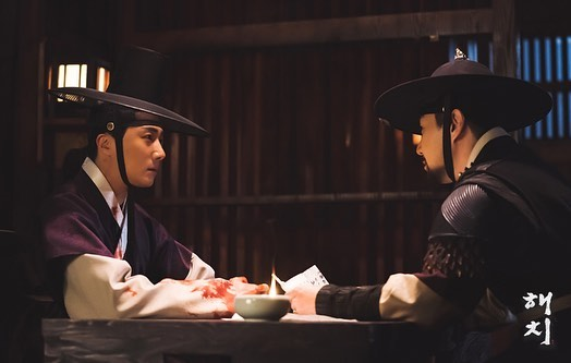2019 3 12 Jung Il-woo in Haechi Episode 10. Behind the Scenes. 5