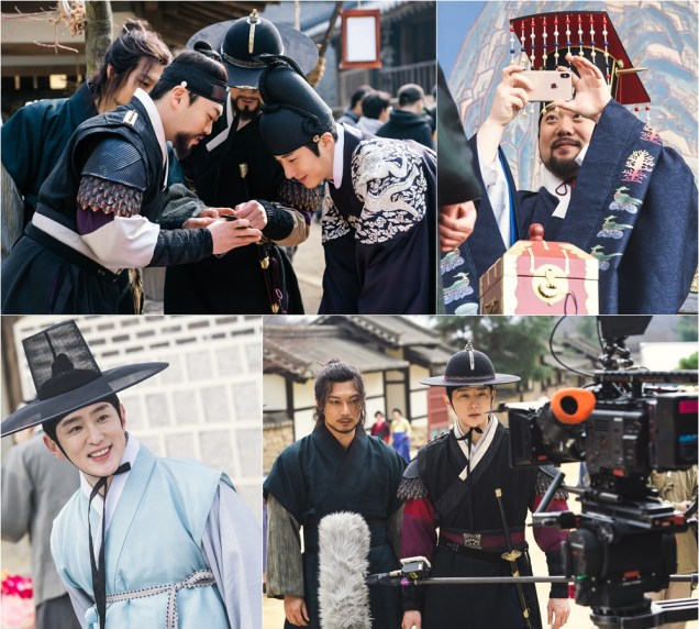 2019 3 18. Jung Il-woo in Haechi Episode 11. Behind the Scenes and Website photos. Cr. SBS 6.jpg