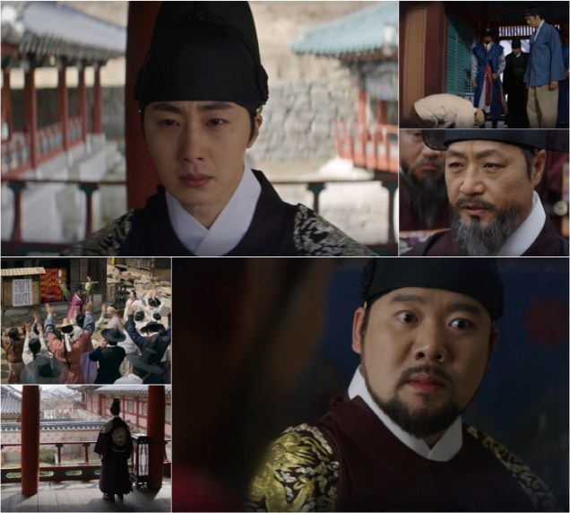 2019 3 18. Jung Il-woo in Haechi Episode 11. Behind the Scenes and Website photos. Cr. SBS 7.jpg