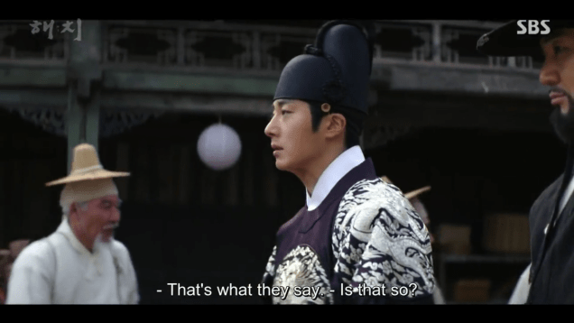 2019 3 18. Jung Il-woo in Haechi Episode 11. Cr. SBS 23