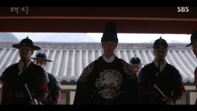 2019 3 18. Jung Il-woo in Haechi Episode 11. Cr. SBS 4