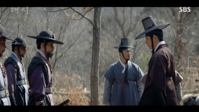 2019 3 8 Jung Il-woo in Haechi Episode 8. 34