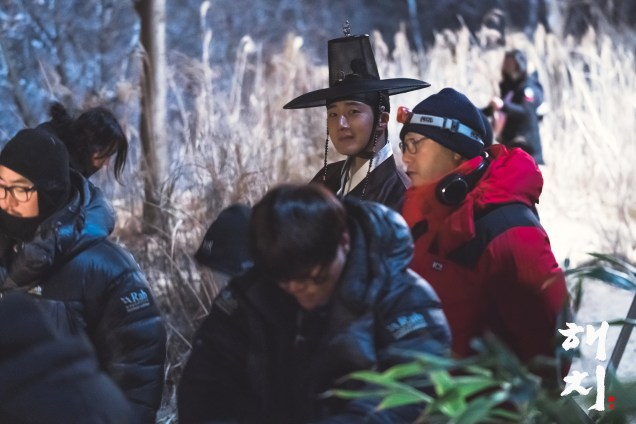 2019 3 8 Jung Il-woo in Haechi Episode 8. Behind the Scenes. 12