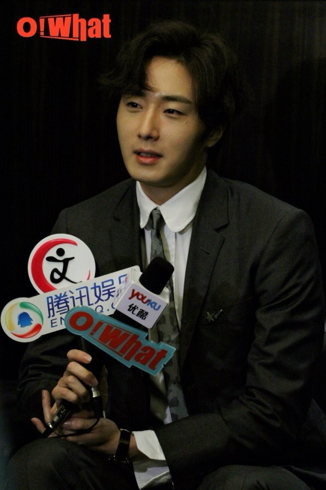 2015 10 Jung Il-woo in the Press Conference of Beautiful Woman : Beauty Dream. Interview. 1