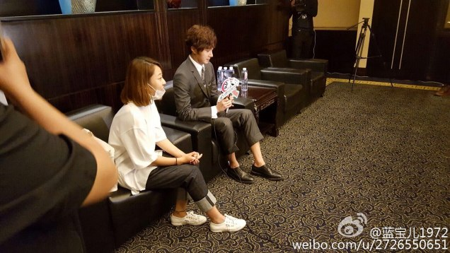 2015 10 Jung Il-woo in the Press Conference of Beautiful Woman : Beauty Dream. Interview. 15