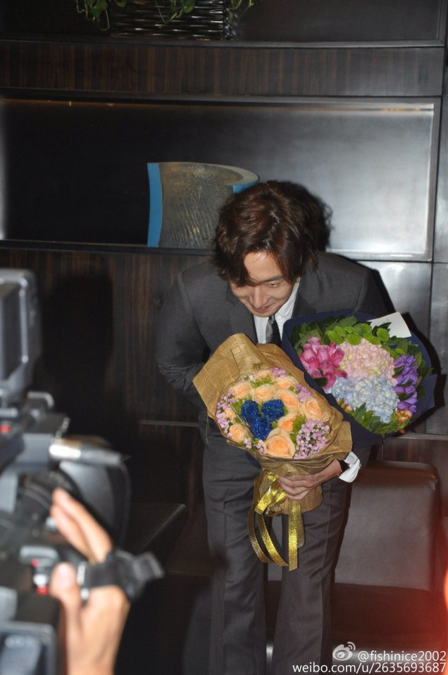 2015 10 Jung Il-woo in the Press Conference of Beautiful Woman : Beauty Dream. Interview. 22