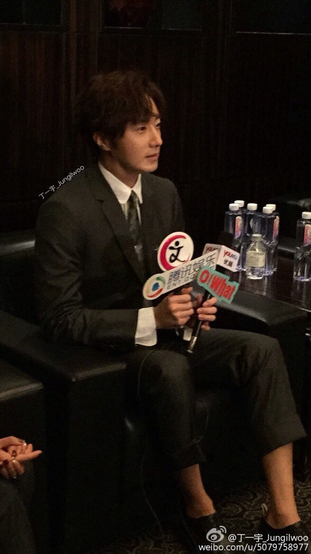 2015 10 Jung Il-woo in the Press Conference of Beautiful Woman : Beauty Dream. Interview. 3