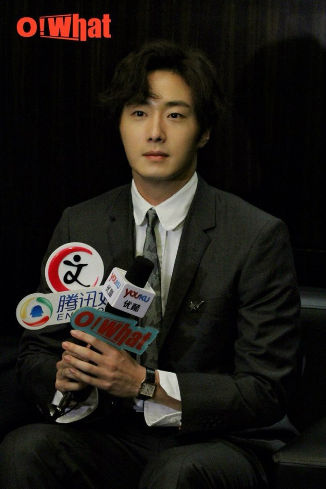 2015 10 Jung Il-woo in the Press Conference of Beautiful Woman : Beauty Dream. Interview. 8