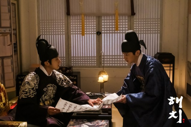 2019 3 26 Jung Il-woo in Haechi Episode 14(27,28) Website & Behnd the Scenes. Cr. SBS 3
