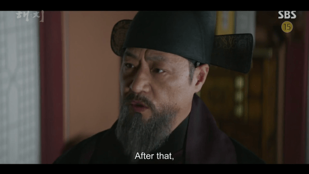 2019 4 1 Jung Il-woo in Haechi Episode 15(29,30) Cr. SBS 16