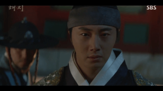 2019 4 2 Jung Il-woo in Haechi Episode 16 (31-32) Cr. SBS 10