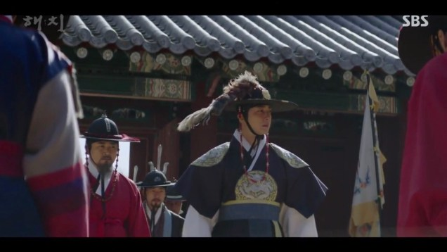 2019 4 2 Jung Il-woo in Haechi Episode 16 (31-32) Cr. SBS 18