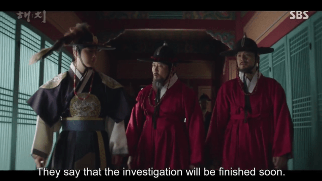 2019 4 2 Jung Il-woo in Haechi Episode 16 (31-32) Cr. SBS 23