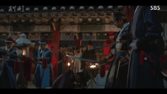 2019 4 2 Jung Il-woo in Haechi Episode 16 (31-32) Cr. SBS 8