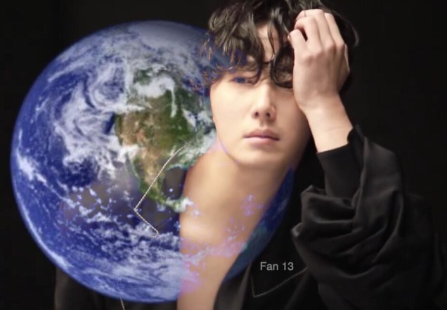 Jung Il-woo and Planet Earth. Edited by Fan 13 for Earth Day 2019. 1