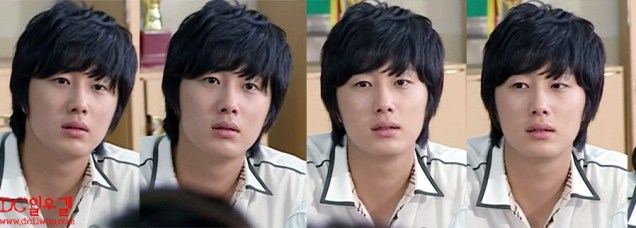 Jung Il-woo as Yoon-ho in Unstoppable High kick. Shirt version. 20073