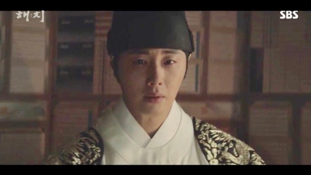 Jung Il-woo in Haechi Episode 18 (35-36) Cr. SBS. 13