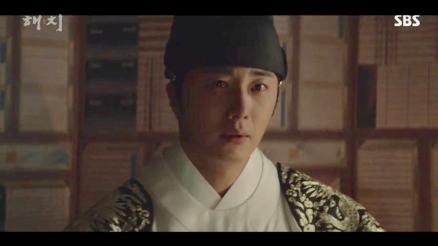 Jung Il-woo in Haechi Episode 18 (35-36) Cr. SBS. 17