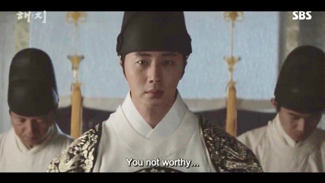 Jung Il-woo in Haechi Episode 18 (35-36) Cr. SBS. 3