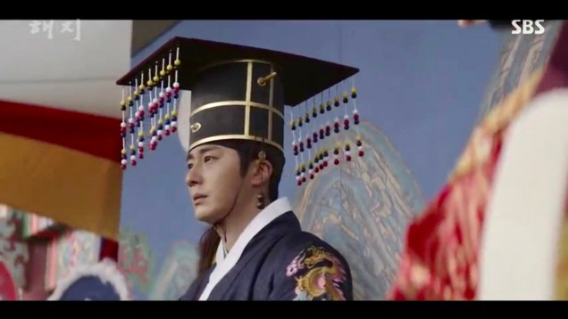 Jung Il-woo in Haechi Episode 18 (35-36) Cr. SBS. 50