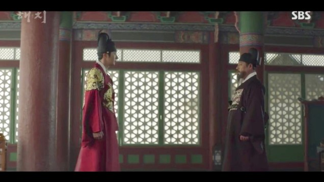Jung Il-woo in Haechi Episode 18 (35-36) Cr. SBS. 67