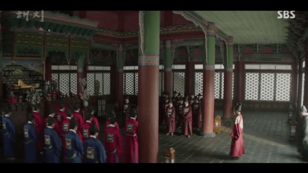Jung Il-woo in Haechi Episode 18 (35-36) Cr. SBS. 77