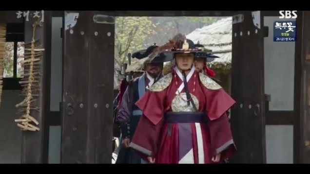 Jung Il-woo in Haechi Episode 19 (37-38) Cr. SBS. 53