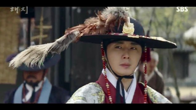 Jung Il-woo in Haechi Episode 19 (37-38) Cr. SBS. 58